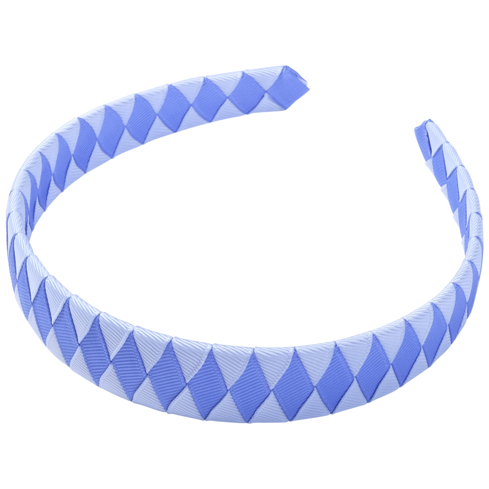 School Hair Accessories sky blue and royal blue Woven Headband
