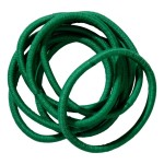 School Hair Accessories green elastics