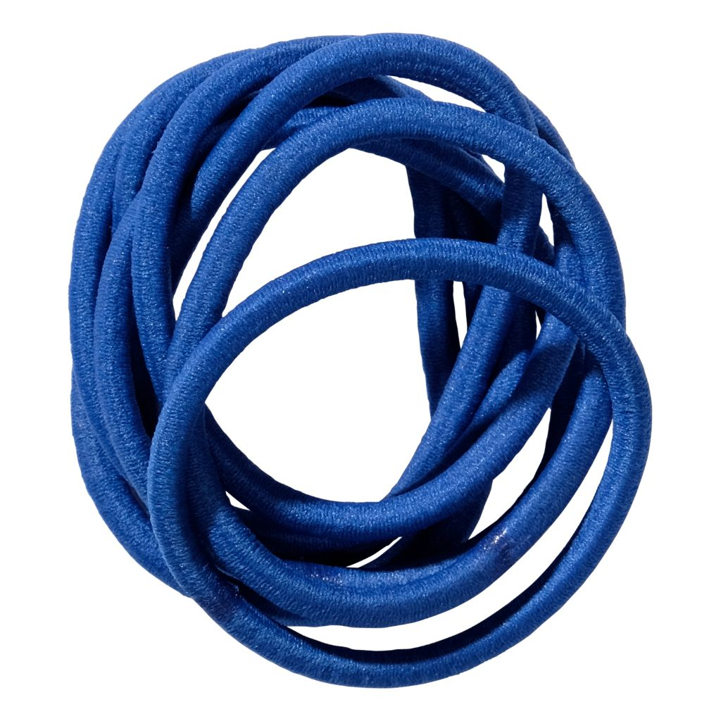 School Hair Accessories royal cobalt elastics
