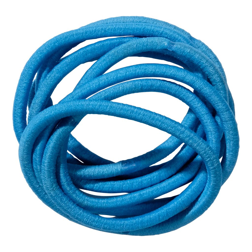 School Hair Accessories aqua elastics