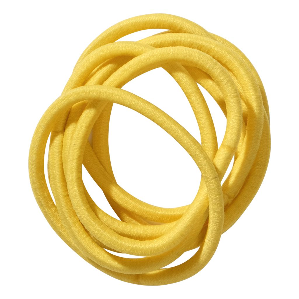 School Hair Accessories yellow elastics