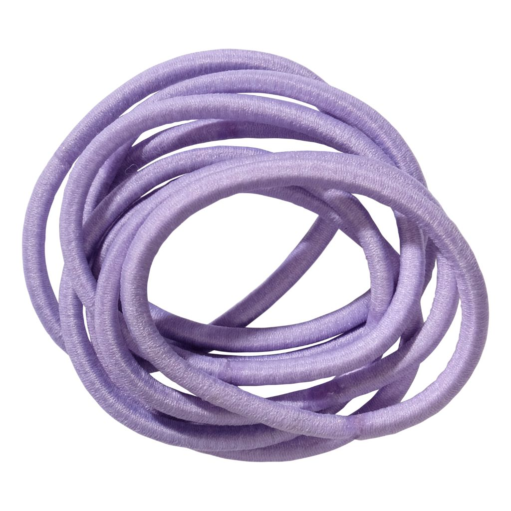 School Hair Accessories purple elastics