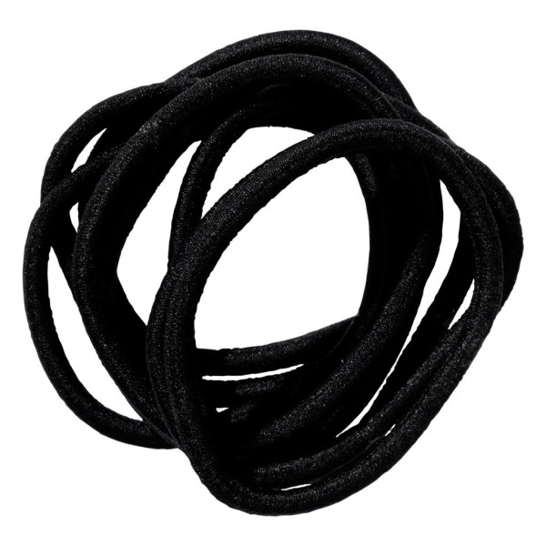 School Hair Accessories black elastics