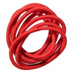 School Hair Accessories red elastics
