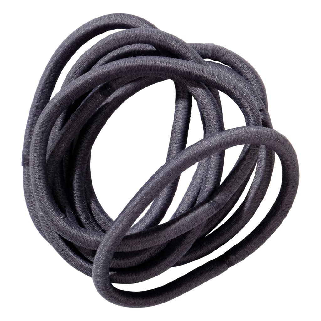 School Hair Accessories grey elastics
