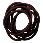 School Hair Accessories brown elastics