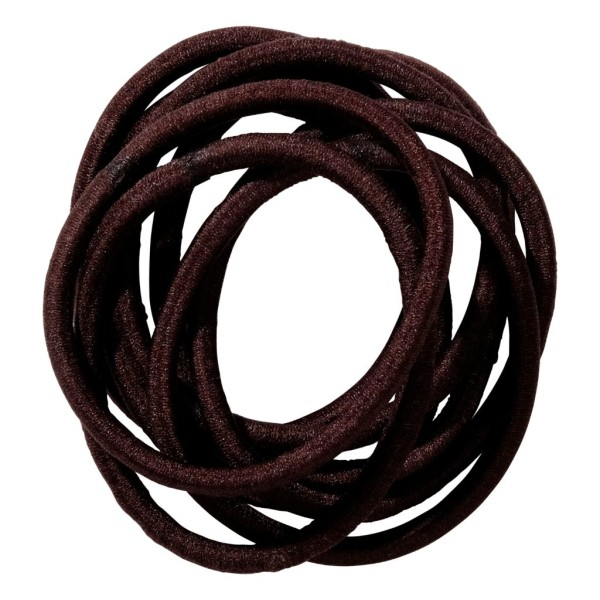 School Hair Accessories brown elastics