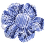School uniform fabric hair accessories flowers