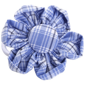 School uniform fabric hair accessories flowers