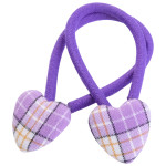 School uniform fabric hair accessories hearts
