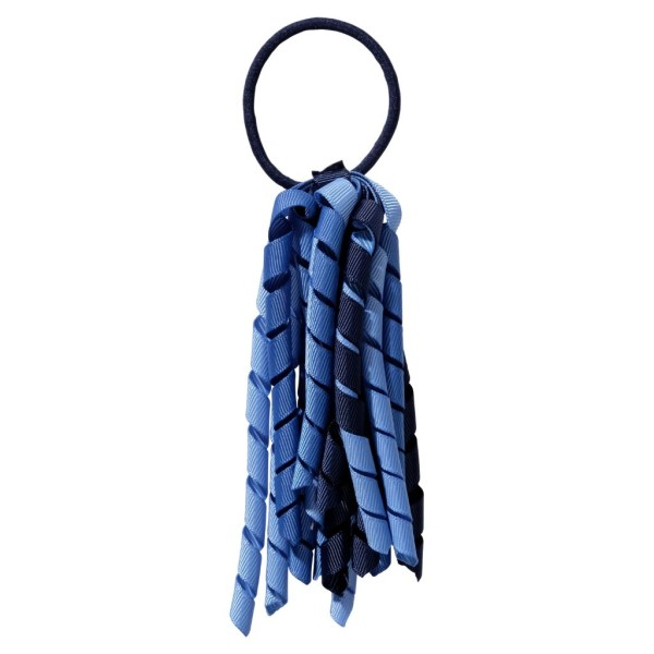 School hair accessories Korker Elastic hair tie dark blue mix