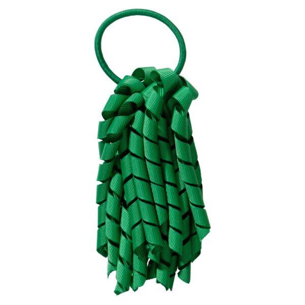 School hair accessories Korker Elastic hair tie green