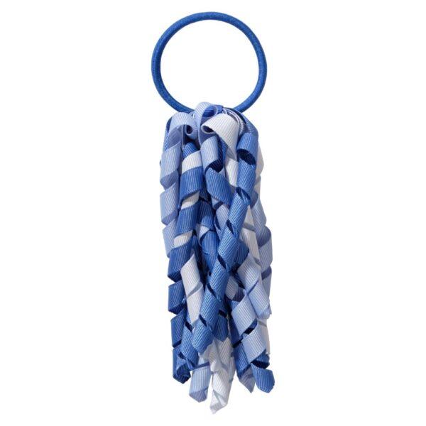 School hair accessories Korker Elastic hair tie light blue mix