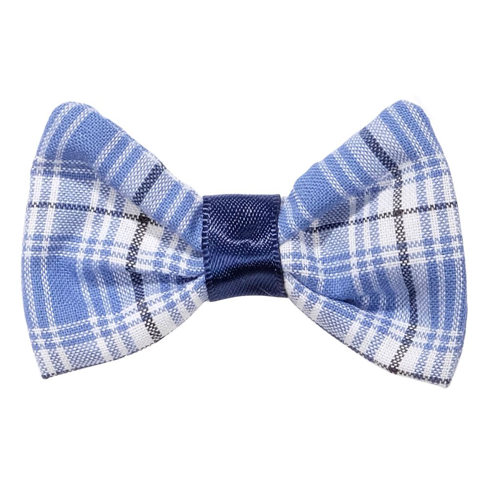 School uniform hair accessories fabric bow clip