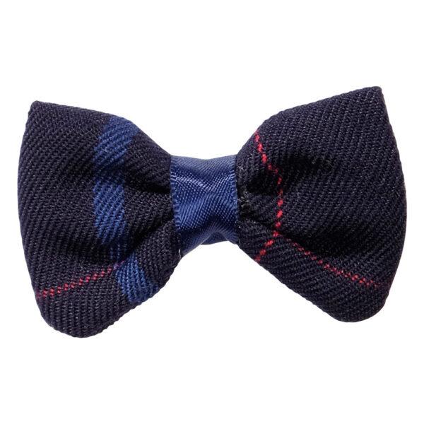 School uniform hair accessories fabric bow clip