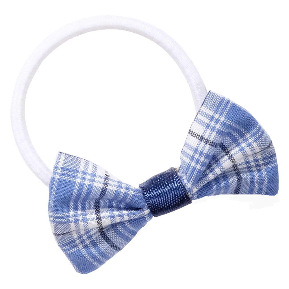 School uniform hair accessories fabric bow