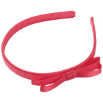 School Hair Accessories red bow headband