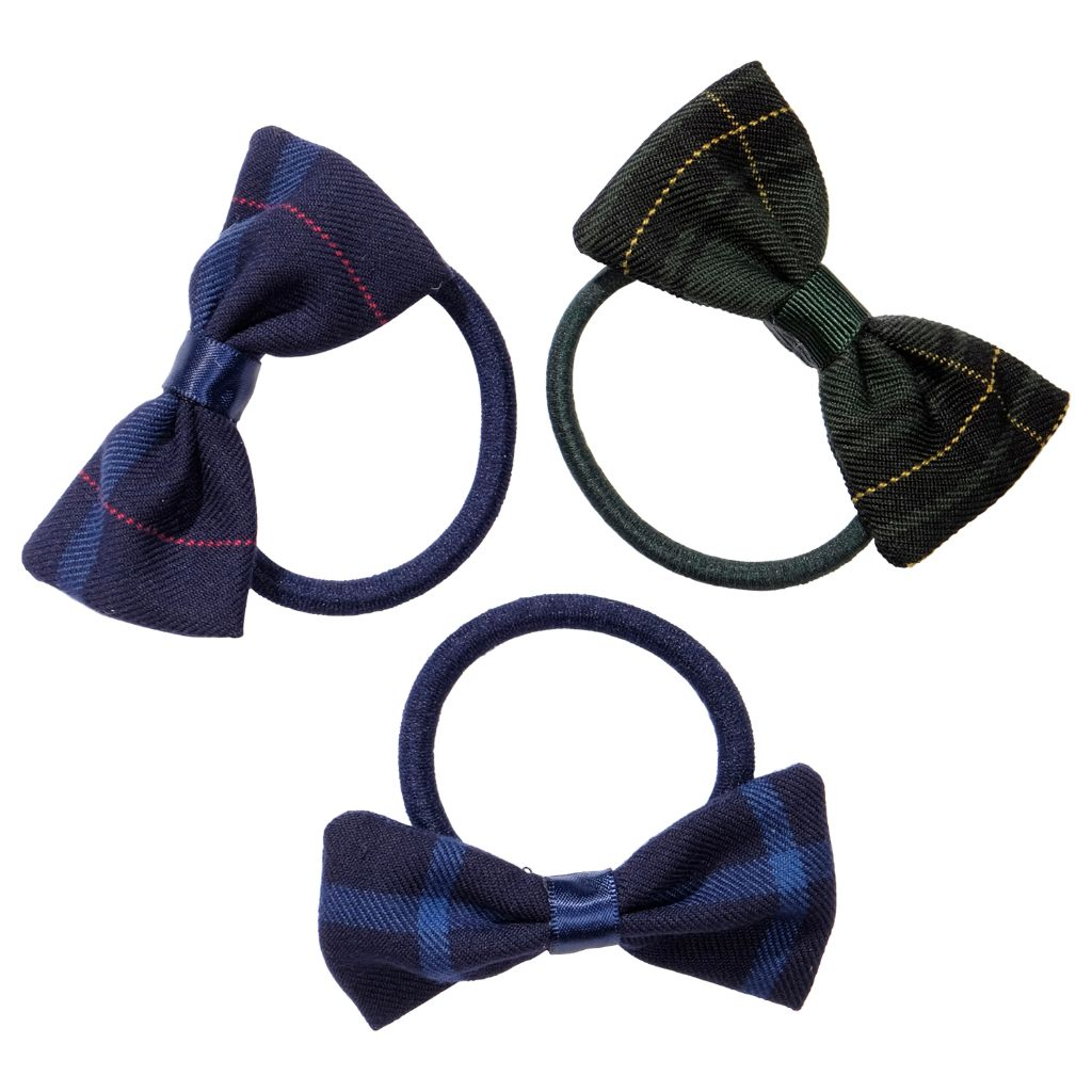 School uniform hair accessories bow elastic