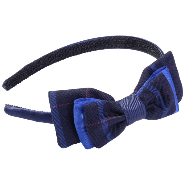 School hair accessories uniform fabric aliceband