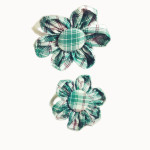 School Hair Accessories flower elastic