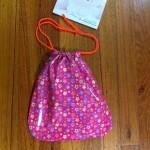 Waterproof school library bag