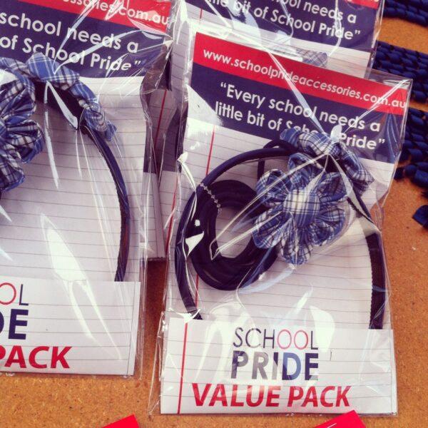 School Hair Accessories Uniform Flower pack