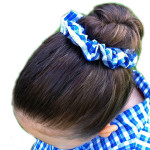 School hair accessories scrunchy