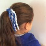 korker in hair for school