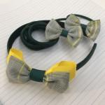 School mini bow elastics