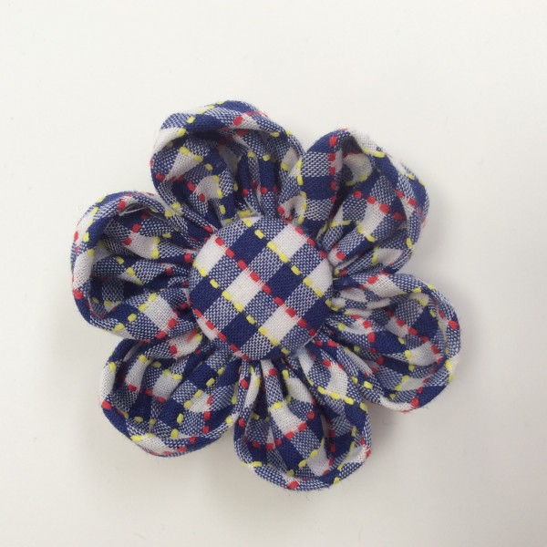 Hair clip flower uniform