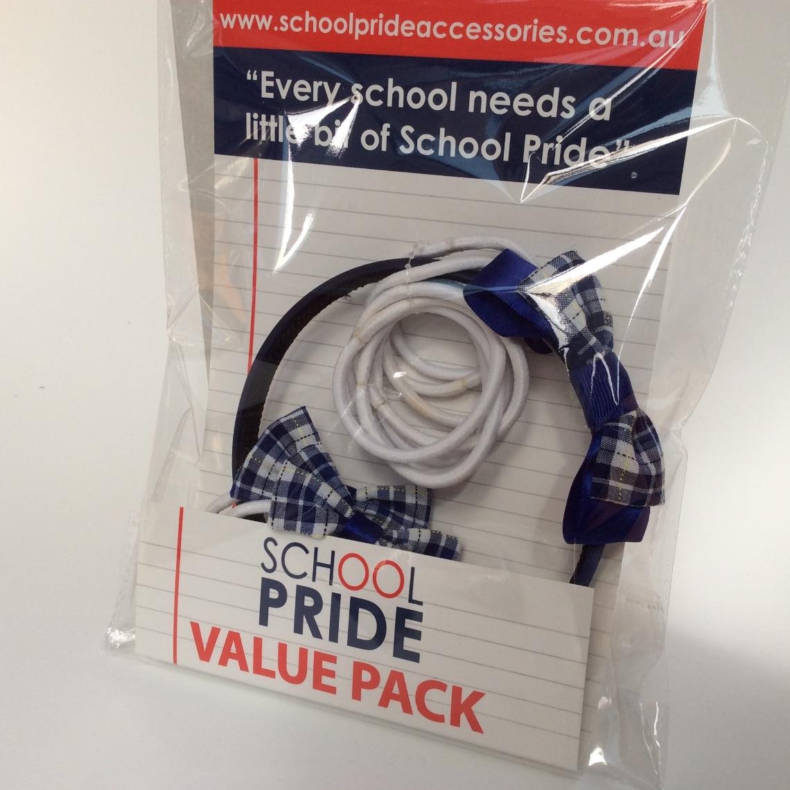 School Uniform Fabric hair accessories