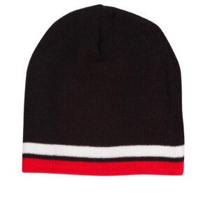 Beanie CH63 Black Red White