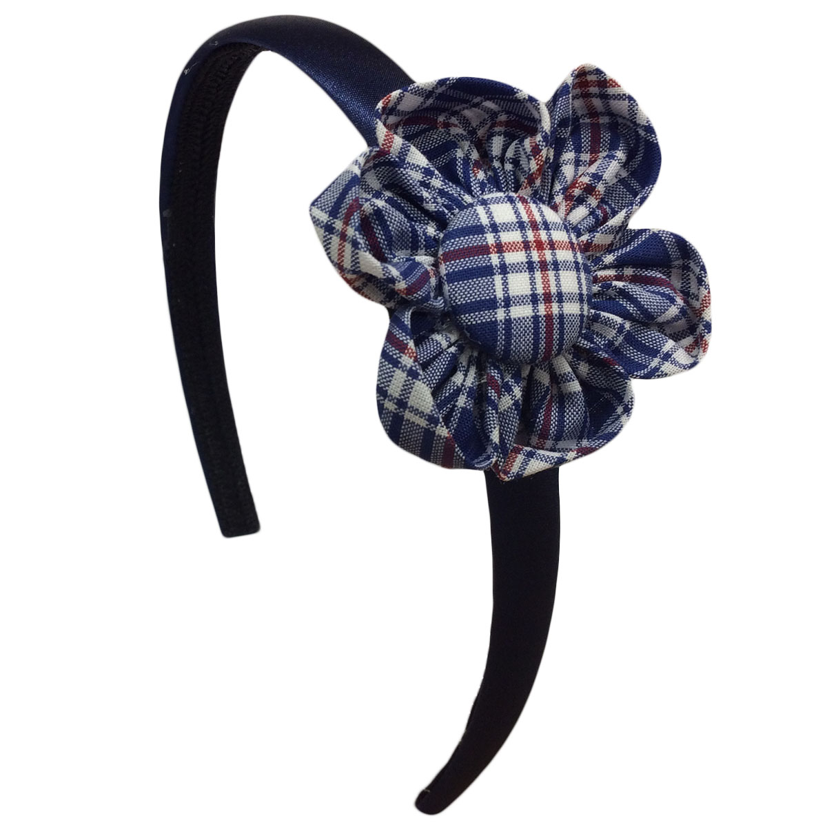 School uniform flower hairband