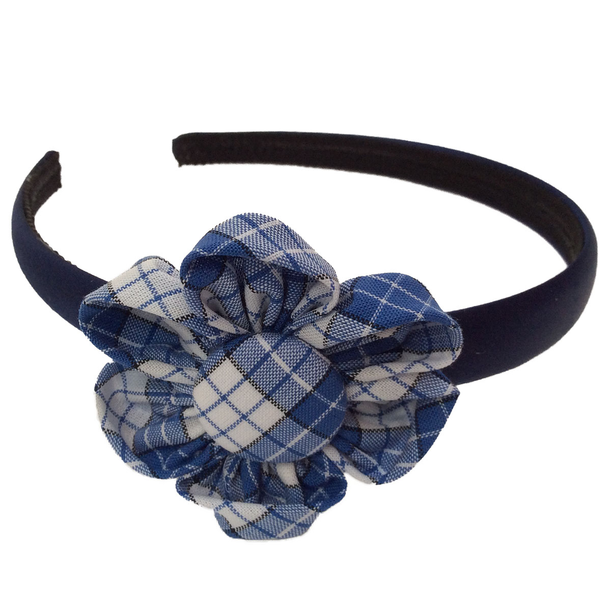 Summer school dress headband flower