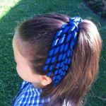 School Hair accessories korker ribbon bow