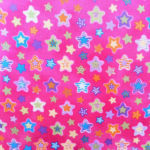 Pink Star water resistant fabric School accessories