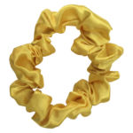 Yellow School Scrunchie
